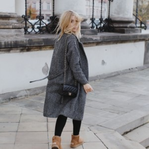 LOOK OF THE DAY – UGLY UGG IN THE CITY