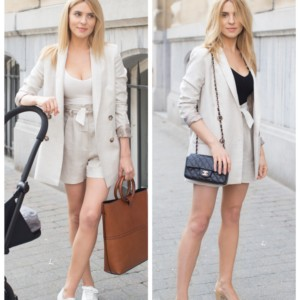 LOOK OF THE DAY – DAY TO NIGHT IN BRUSSELS