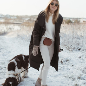 LOOK OF THE DAY – FIRST (REAL) WINTER COMBO